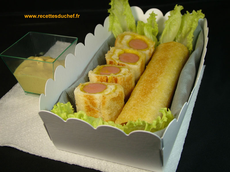 croque monsieur hot dog