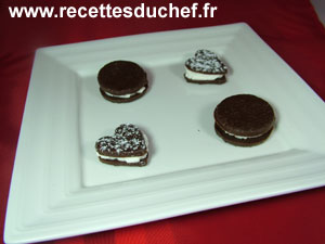 biscuits chocolat chantilly