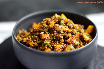 curry de quinoa rouge