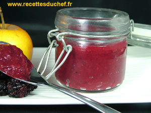 compote pommes mures