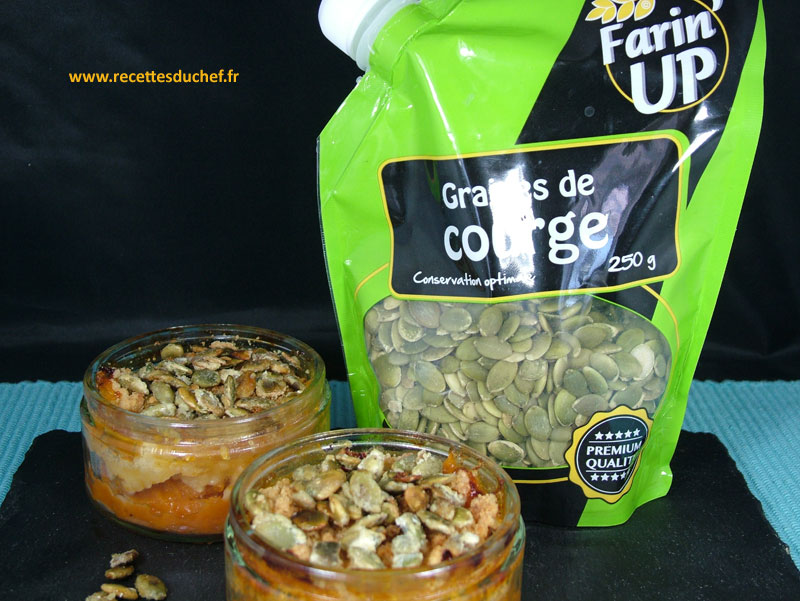 crumble courge farinup