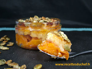 crumble graines de courge