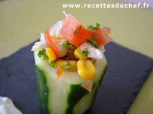 Entr es recettes for Entree simple originale