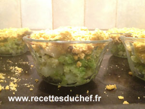 crumble chou romanesco