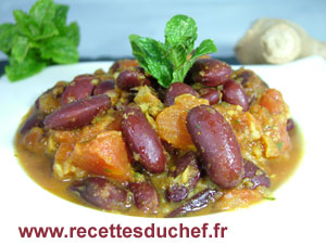 curry haricots rouges