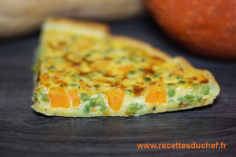 quiche courge butternut
