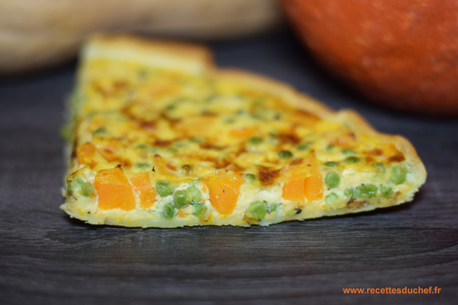 tarte courge butternut