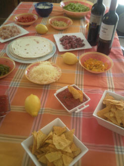 repas mexicain