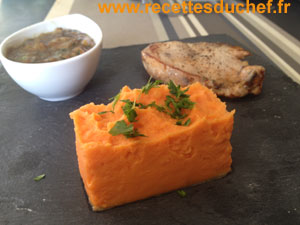 puree patate douce