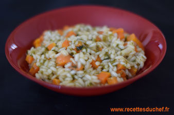risotto algue carotte