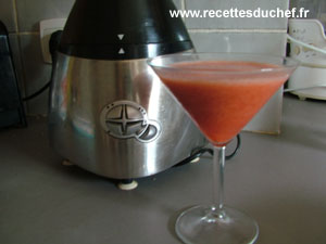smoothie fraise orange