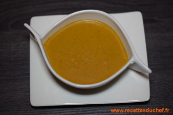 veloute butternut curry coco