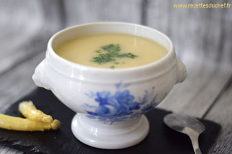 veloute epluchures asperges